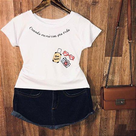 T-shirt Criando Memórias pra Vida