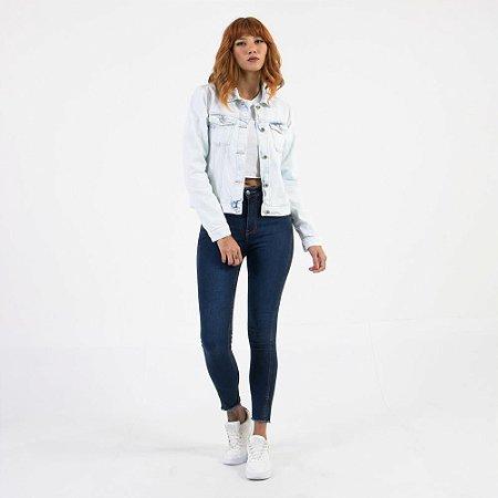 Calça Jeans Lady Rock Skinny Cintura Alta CL03026
