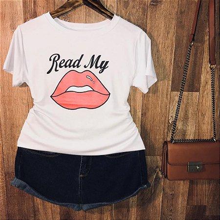 Camiseta Read My