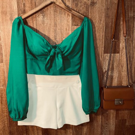 Blusa Cropped Alice