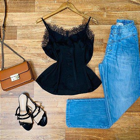 Calça Jeans Dardak Mom 2162 Azul Claro