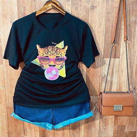 Camiseta Onça Fashion