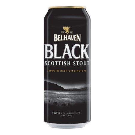 BELHAVEN BLACK STOUT 440ML