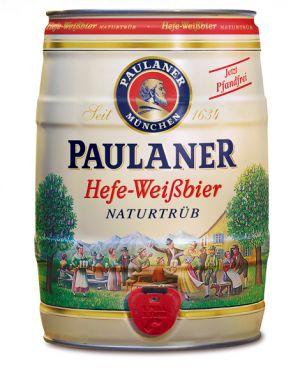 PAULANER HEFEWEISSBIER BARRILETE 5L