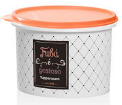 Tupperware Tupper Caixa De Fubá Bistro 1Kg