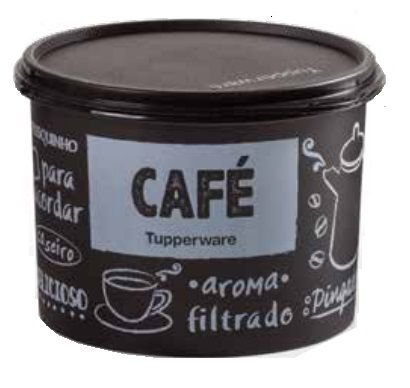 Tupperware Tupper Caixa De Café PB 700G