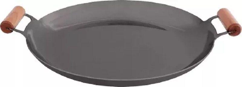 Chapa Bifeteira Ferro - Disco Arado Com Bordas 40cm