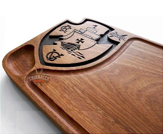 Tabua De Carne Do Vasco Personalizada Grande 60x30x3,5cm