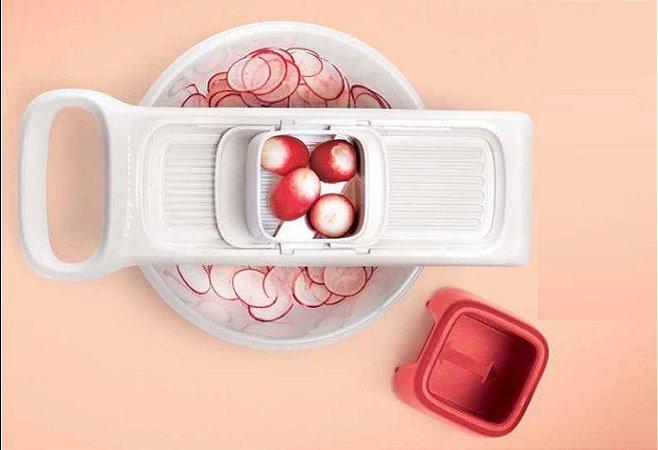 Cortador Fatiador Frutas E Legumes Tupperware Super Chef Mini