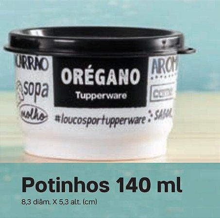 Tupperware Potinho Porta Temperos Orégano 140ml Desenho PB