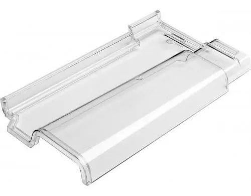 10 Telhas Romana Transparentes Translúcidas De Policarbonato Anti UV