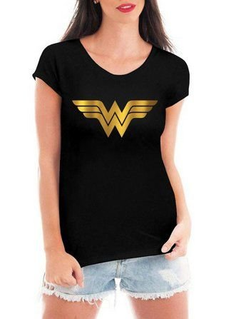 3f03464ac6050 Camiseta Feminina Mulher Maravilha Filme - Personalizadas  Customizadas   Estampadas  Camiseteria  Estamparia