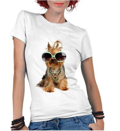 824f11d3b Camiseta Feminina Pet Lover Divertidos - Personalizadas  Customizadas   Personalizadas  Customizadas  Estampadas