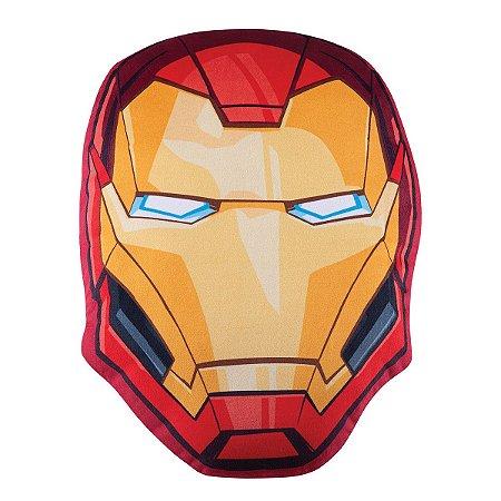 Almofada Infantil Transfer Avengers Iron Man Lepper Vermelha