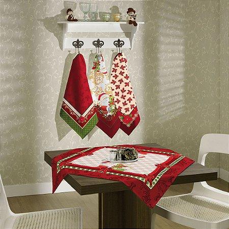 Toalha de Mesa Topper Natal  75cm x75cm [Noel]