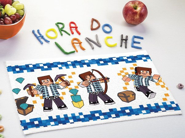 Toalha de Lancheira Infantil Lepper [Authentic Games]