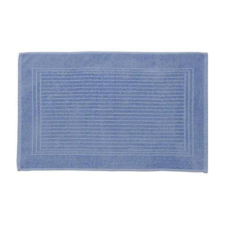 Piso de Banheiro Alto e Baixo Relevo Cedro Santista Azul
