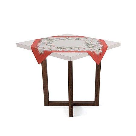 Toalha de Mesa Quadrada de Chá 78cm x 78cm Karsten Eucalipto