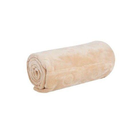 Cobertor Bebê Relevo Touch Texture Jolitex Bege