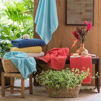 Toalha de Banho Santista Home Design Flint Amarelo