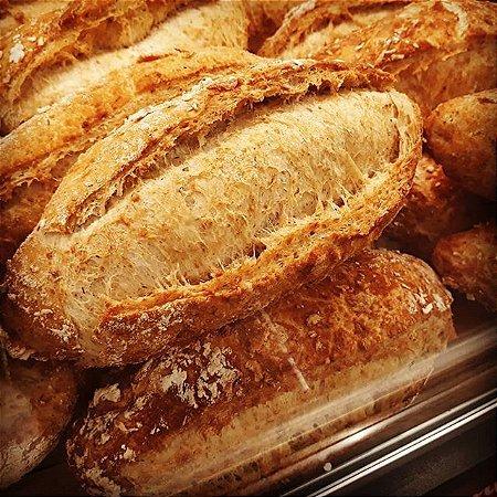 Pré-mistura Pão Semi Italiano Integral Via Pane - 10kg