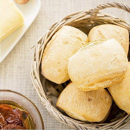 Pão Ciabatta Pré-assado e Congelado Via Pane - 3kg