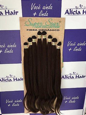 Cabelo orgânico Brazilian Plus cor 4