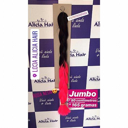 Ultra jumbo preto/pink
