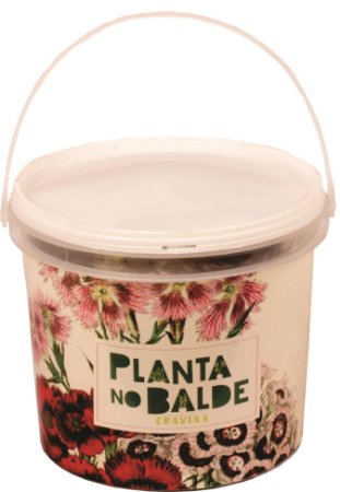 Balde de Cravina (Flor Comestível)