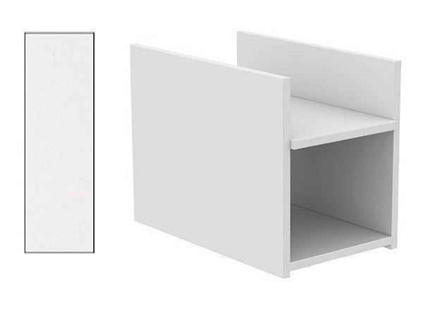 Suporte para CPU 25,5 x 28 x 44 cm Branco