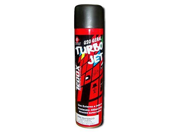 Spray Preto Fosco