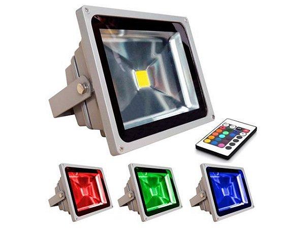 Refletor LED RGB 20W