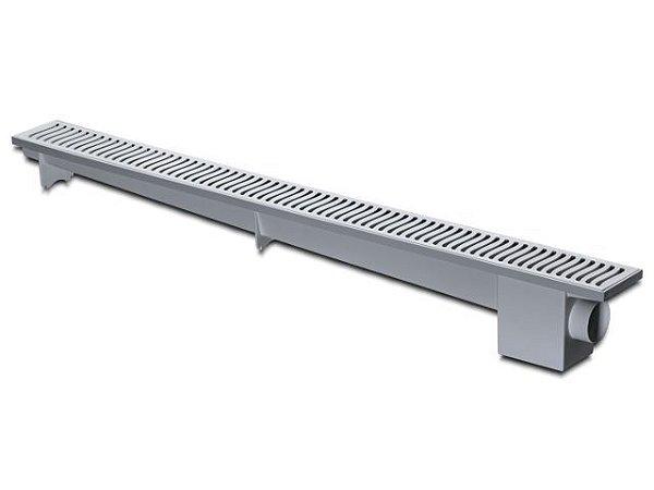 Ralo Linear Sifonado 50cm Cinza Herc