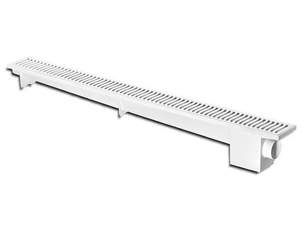 Ralo Linear Sifonado 50cm Branco Herc
