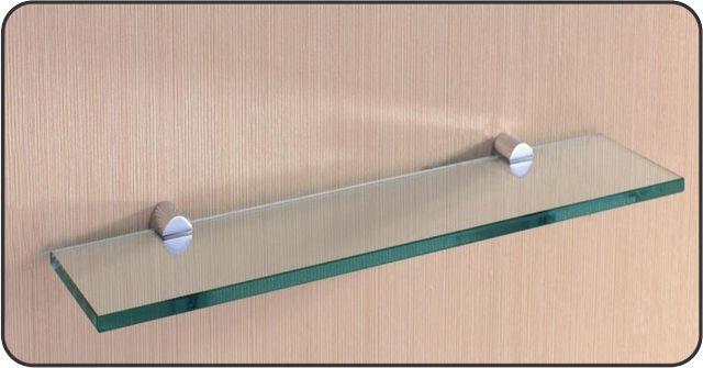Prateleira de Vidro Vitta Reta 15x60 cm