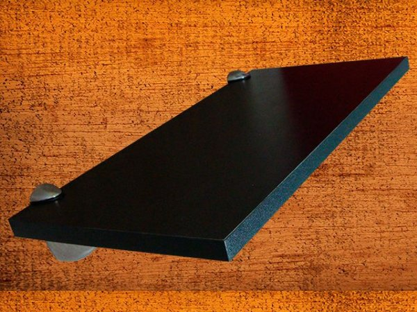 Prateleira Sublime 25x60 cm Preta