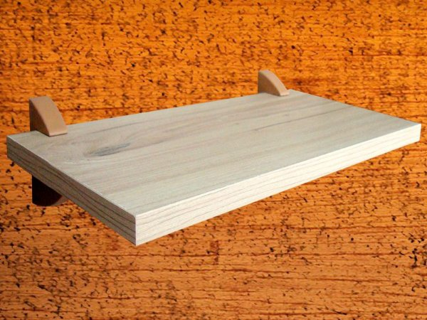 Prateleira Decora 20x80 cm Elmo Macciato