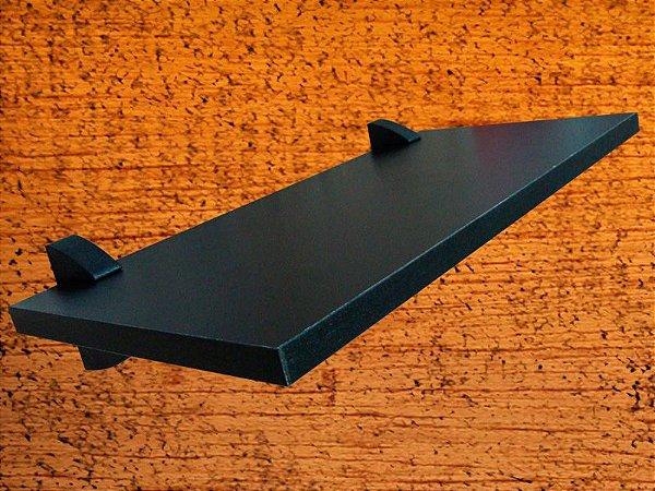 Prateleira Decora 20x60 cm Preta