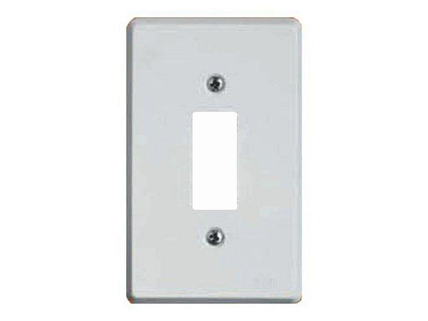 Placa BR c/ 1 Furo p/ Interruptor Ilumi- Prátika