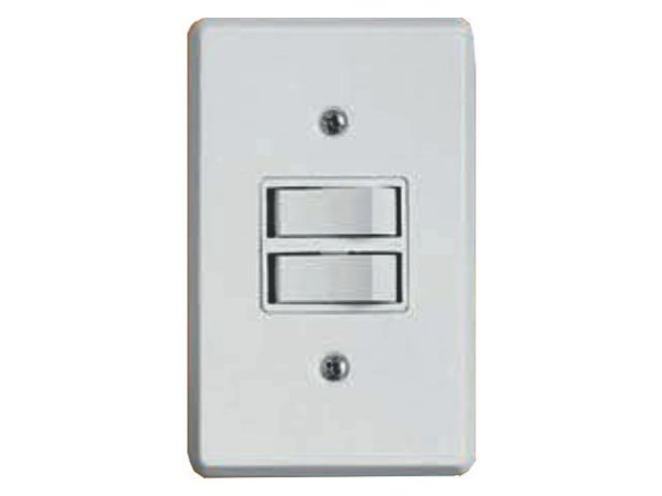 Interruptor BR 2 Teclas Simples Ilumi - Prátika