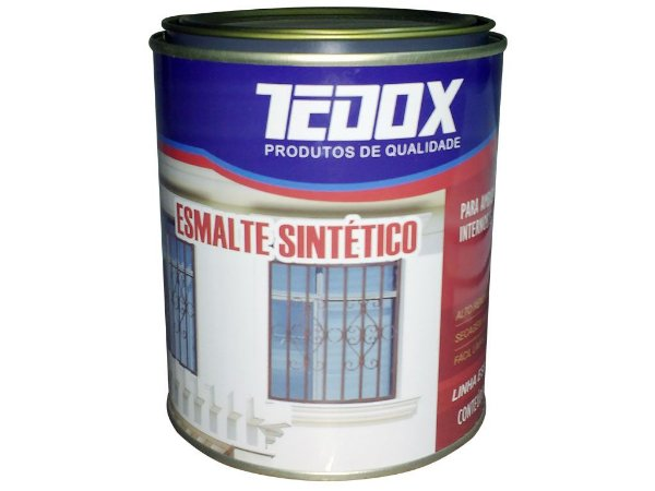 Esmalte Standard 900ml Azul França Tedox