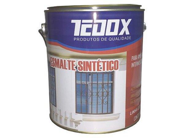 Esmalte Standard 3,6L Platina Tedox