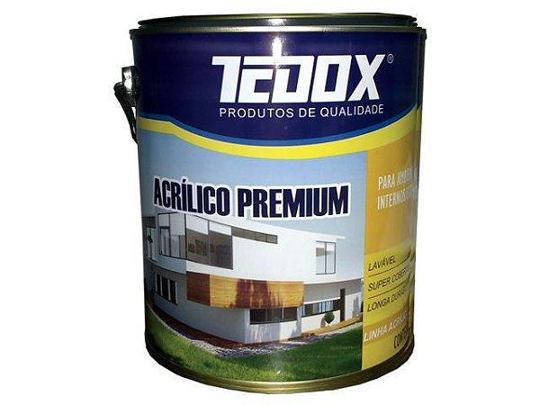 Acrílico Premium Semi Brilho Branco Tedox