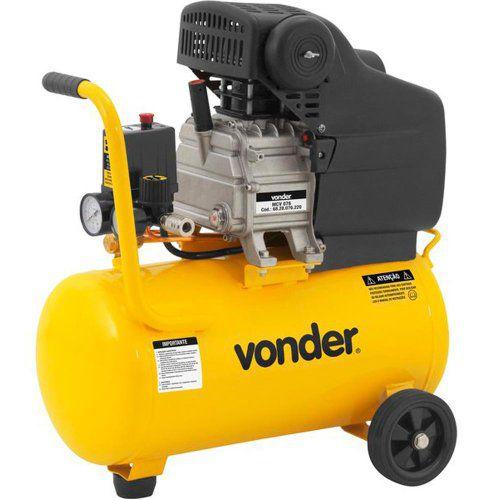 Motocompressor de ar MCV 076  7,6 PCM 24 Litros VONDER