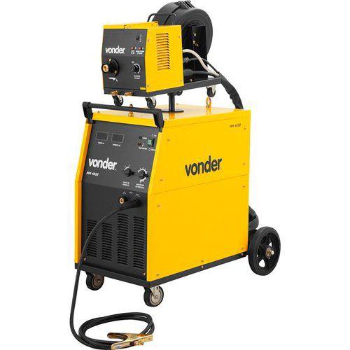 Máquina para solda MIG/MAG com cabeçote externo MM 405 E trifásica VONDER