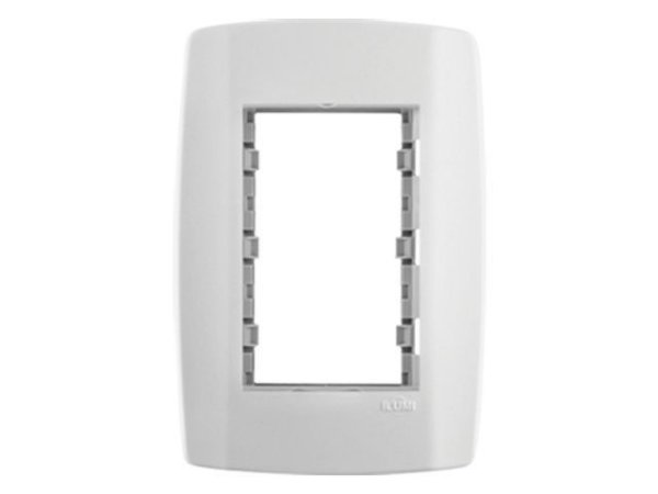 Placa 4x2 modular Cega com Suporte