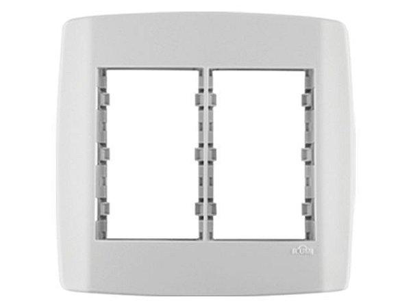 Placa 4x4 Modular cega c/ Suporte