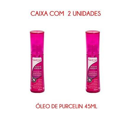 Caixa com 2 unidades de Óleo de Purcelin 45ml