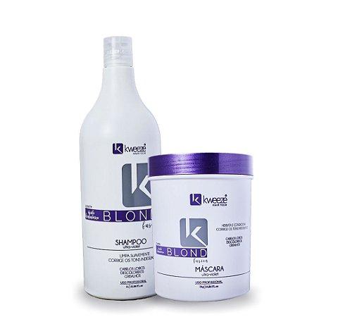 Shampoo e máscara Blond Fusion 1 litro