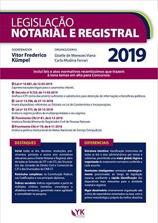Legislação Notarial e Registral 2019
